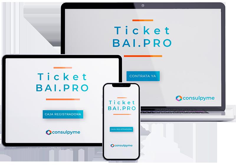 TicketBAI.PRO para todos los dispositivos es tu solución al nuevo sistema retributivo y financiero.